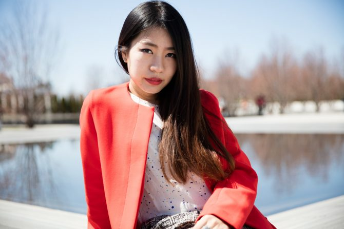 Meet Annie Fashion Design Student And Musthave16 Summer Dress Competition Finalist Toronto Film School