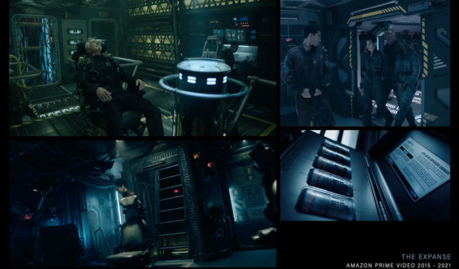Compilation of photos from The Expanse